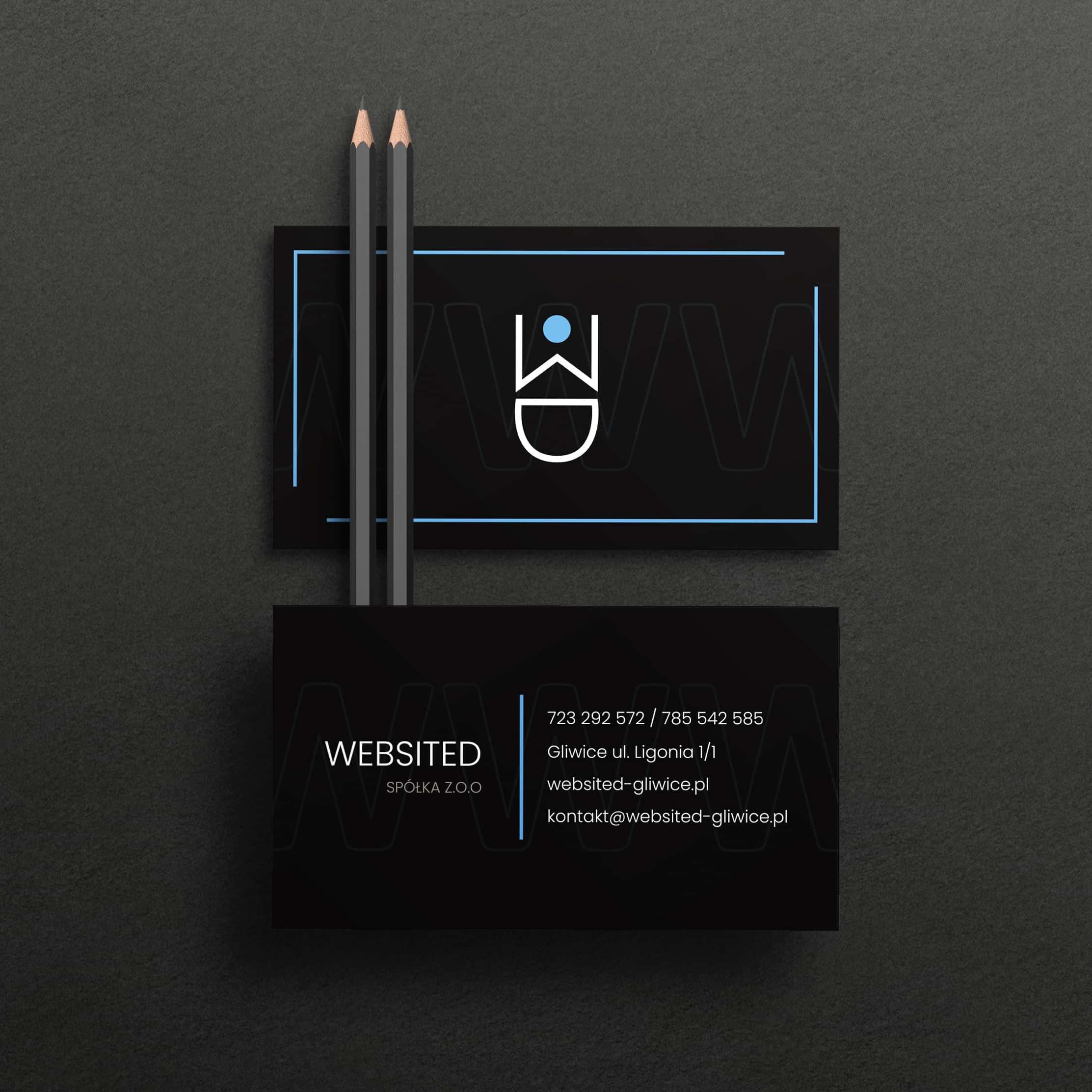 Wizytówka firmy Websited